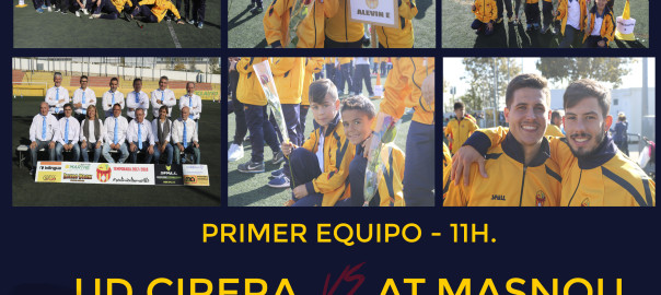 Presentación Fútbol Base UD Cirera 2018/19