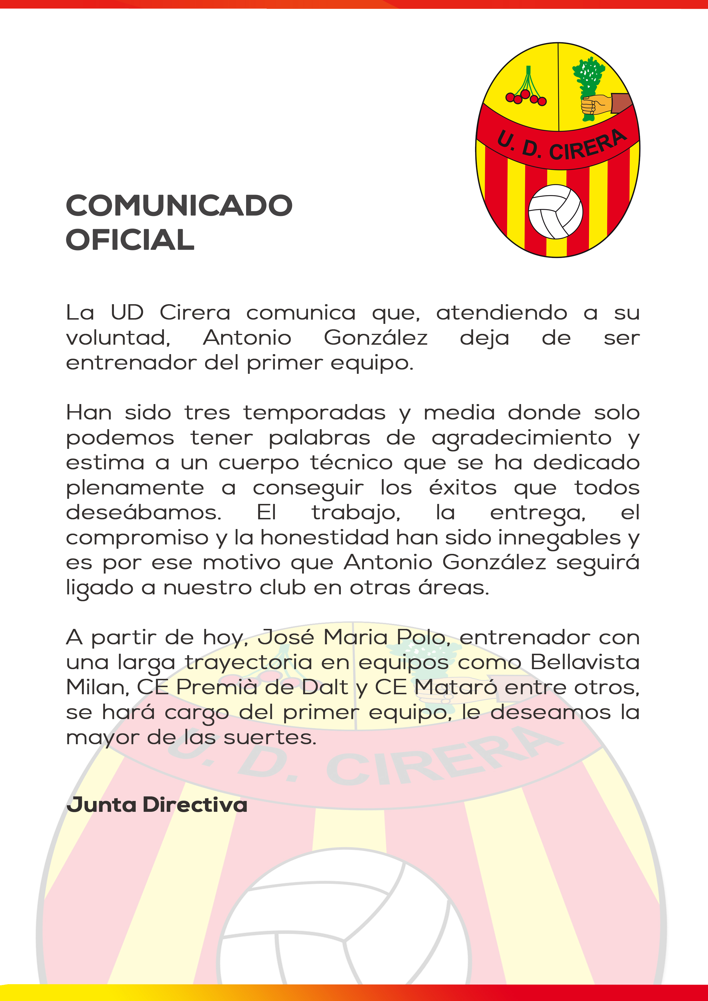 Comunicado Oficial_Antonio González