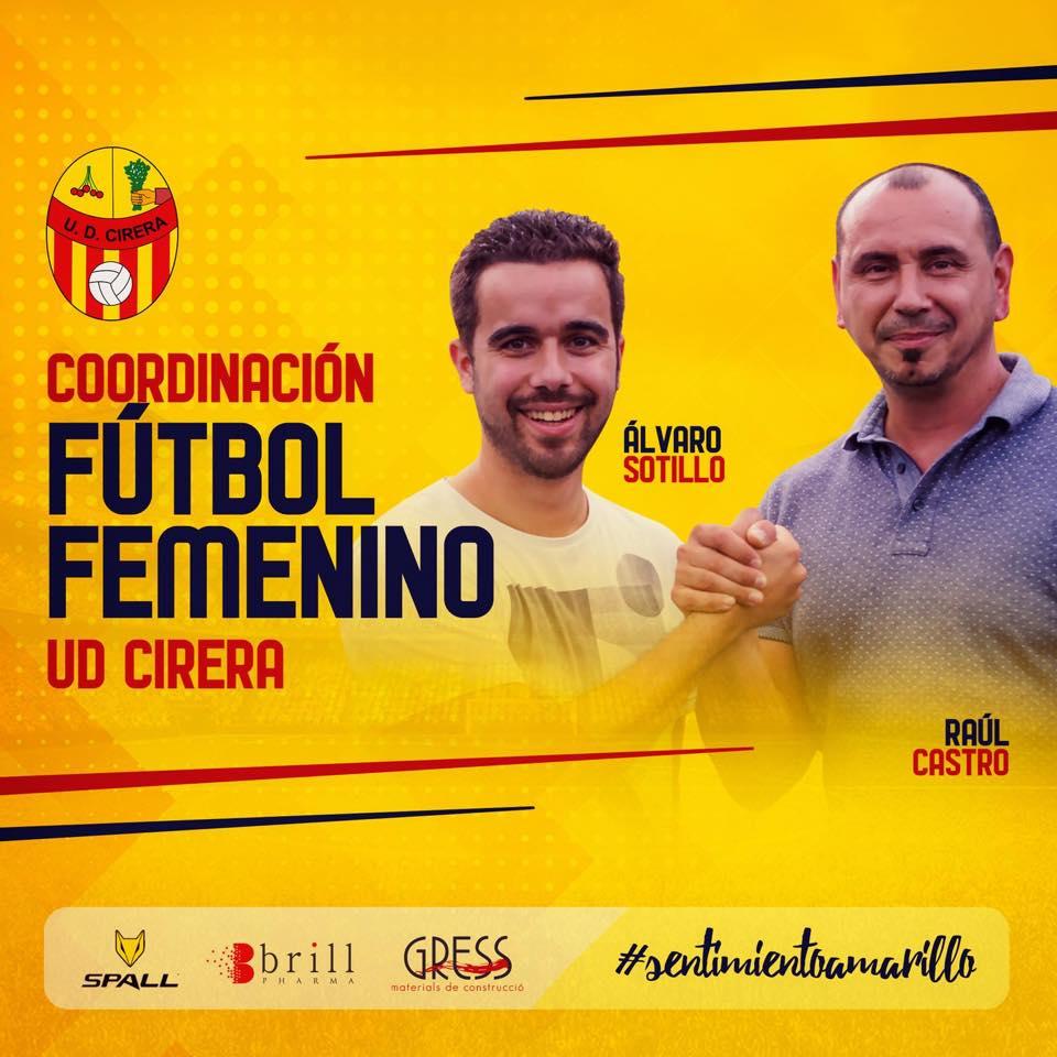 Álvaro Sotillo y Raúl Castro, nuevos coordinadores del Fútbol Femenino